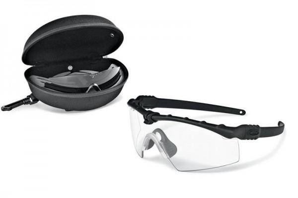 Oakley SI BALLISTIC M FRAME 3.0 ARRAY BLACK / CLEAR & GREY Schutz- & Schießbrille