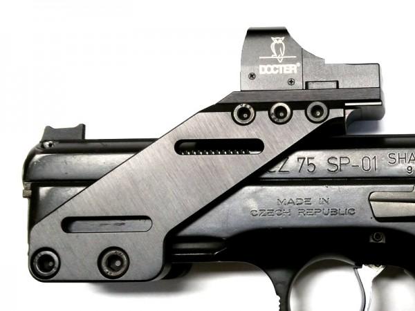 CZ75 SP-01 MONTAGE PICATINNY