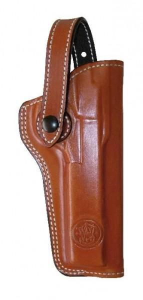 """Smith & Wesson De Santis Lederholster für M41 5 1/2""""-Lauf braun"""